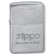 Зажигалки ZippoШирокие 200 NAME IN FLAME