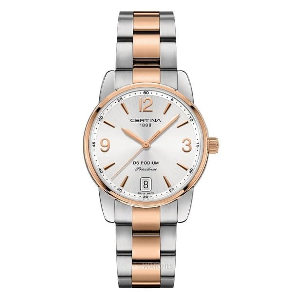 Швейцарские часы Certina коллекция DS Podium Lady 33mm