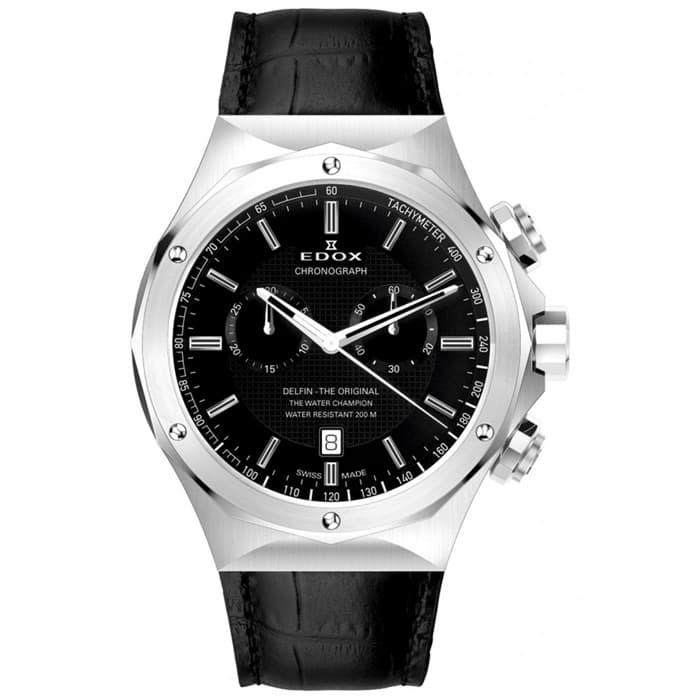 bc17812f Швейцарские часы Edox Delfin 10105-3-NIN купить в Минске, цена